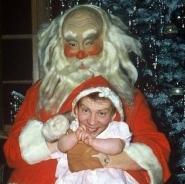 Chris & Santa