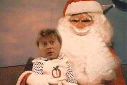 Russell & Santa