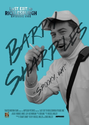 Barry Poster BW and Blue