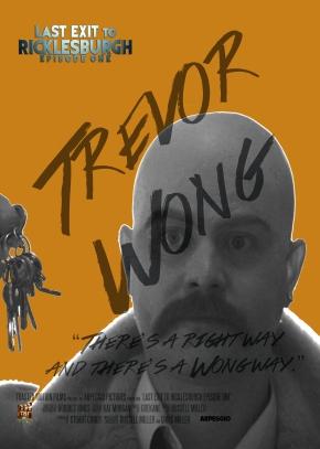 Trevor Poster BW and Orange